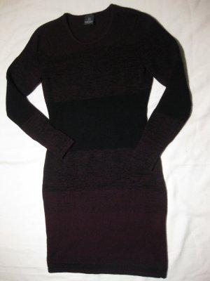 Madeleine Gebreide jurk veelkleurig Scheerwol