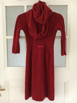 Kleid aus Wolle und Kaschmir von Hallhuber
