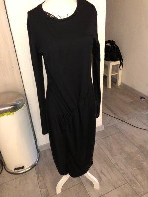 Zara Wollen jurk zwart