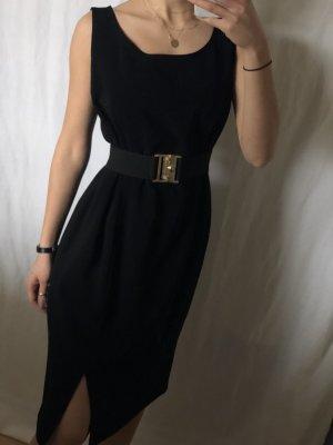 Vera Mont Vestido línea A negro