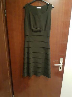 A-lijn jurk bruin