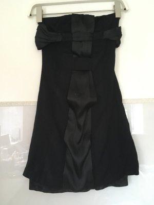 Kleid Bandeau von Mango in schwarz Größe XS