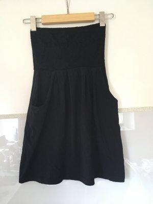 Kleid Bandeau von Vero Moda In schwarz Größe XS