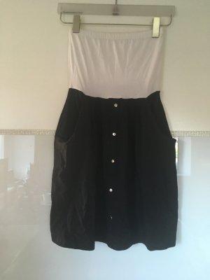 Kleid Bandeau von Vero Moda in schwarz weiß Größe XS