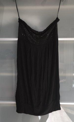 Kleid / Bandeaukleid schwarz