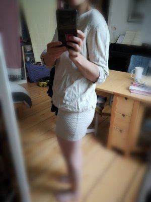 Ba&sh Robe courte blanc coton