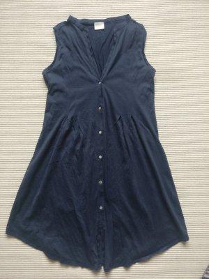 Hanro of Switzerland Vestido tipo blusón azul oscuro-azul Algodón