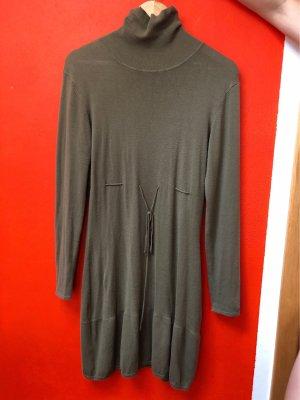 Vero Moda Robe pull kaki-vert olive
