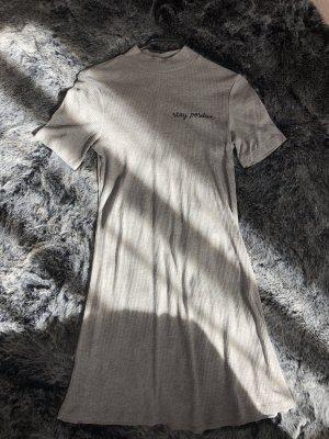 H&M Robe trapèze gris clair