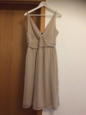 Kleid, beige