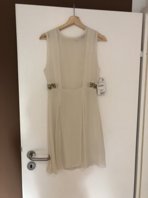 Zara Midi Dress nude