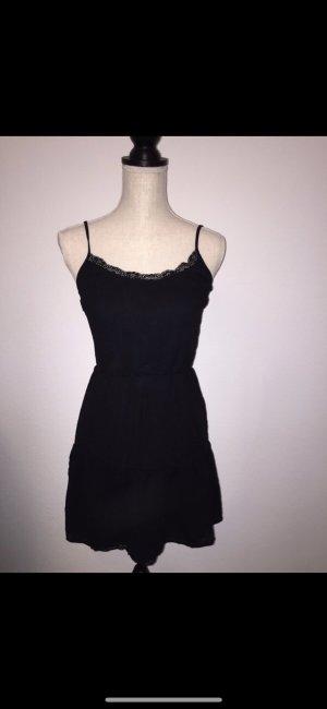 Kleid, Bershka, schwarz, Gr. xs, neu