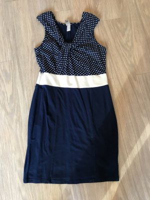 Best Connections Sheath Dress blue-white