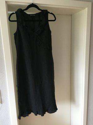 Kleid, Black Dress, 100% Leinen, Größe 38