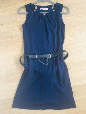 Lisa Campione Pencil Dress dark blue