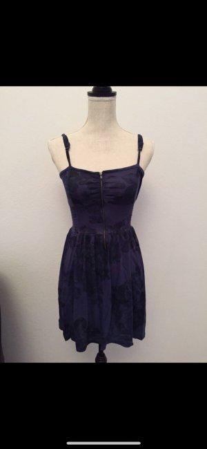 Bershka Mini Dress blue