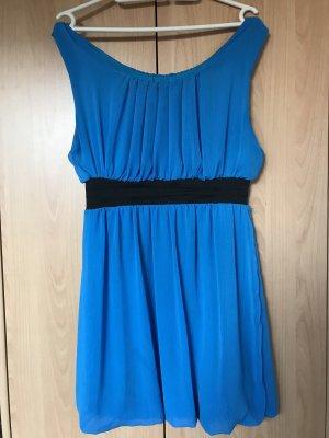 0039 Italy Robe de plage bleu fluo