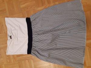 Kleid blau/weiß Gr. M/L