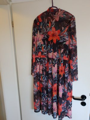 Kleid/ Blümchenkleid/ langes Kleid PIECES