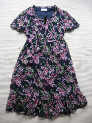 kleid blumen floral neu gr. s 36 tchibo garden romantik