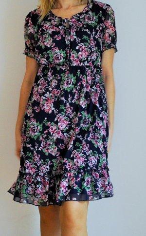 kleid blumen floral neu gr. s 36 tchibo garden romantik vintage