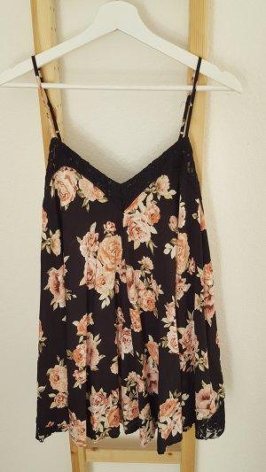 Kleid Blumen mit Spitze S/M