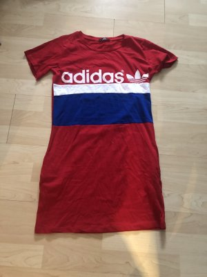 Adidas NEO Blusa tipo body rojo