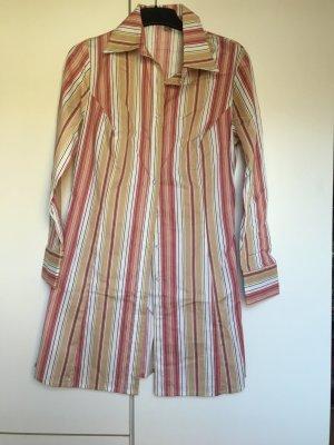 Kleid Blusenkleid *Gr. 38* Weiß Beige