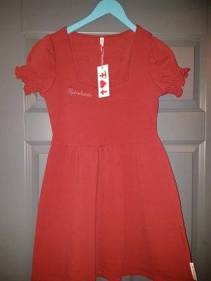Blutsgeschwister Sweat Dress dark red