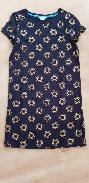 Boden Vestido estilo camisa color oro-azul