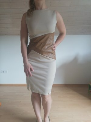 Pencil Dress cream-beige