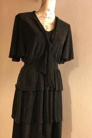 Bodyflirt Volante jurk zwart