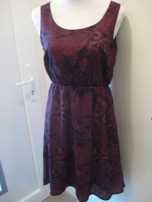 Kleid Bordaux Ethno Bohoo Gr. 36 Neu