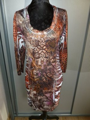 Kleid braun Steinchen Biba Crisca