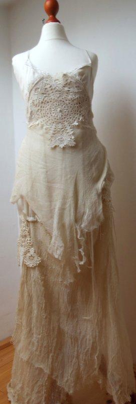 Kleid Brautkleid Abendkleid Elfe Hippie Spitze