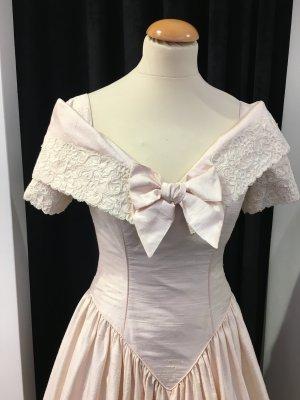 Kleid Brautkleid in rosa mit Spitze Gr 36