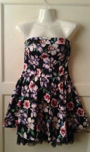 Kleid,bunt,  Gr. 34   .