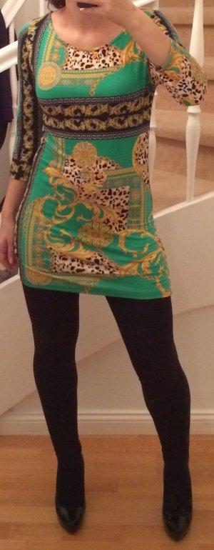 Kleid bunt Pullover - It-Kleid