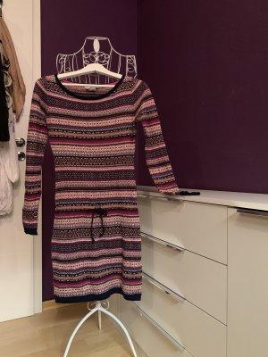 Kleid bunt Strickkleid