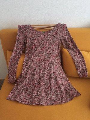 Kleid -buntes Punktemuster Größe 36/38