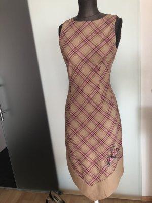 Kleid Business Cocktail Gr 34 36 S  Kato Muster Rosen Stickerei