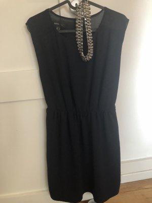 Kleid Businesskleid blau S Mango