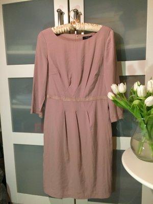 Kleid Businesskleid Dreiviertelärmel beige Esprit Collection