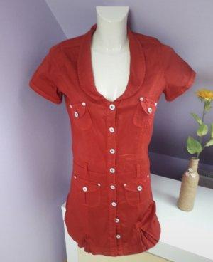Stretch jurk rood