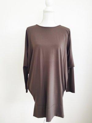 Kleid bzw. Oberteil von Piu & Piu, grau-braun, Gr. S/2,