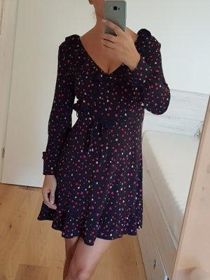 C&A Longsleeve Dress black-dark red