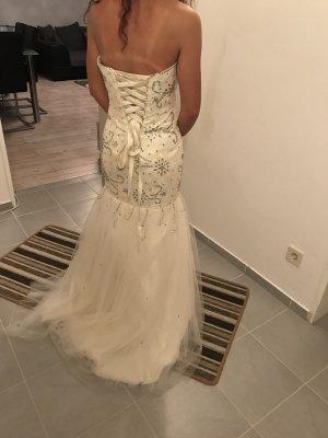 Vestido crema
