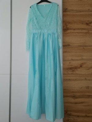 Lace Dress turquoise