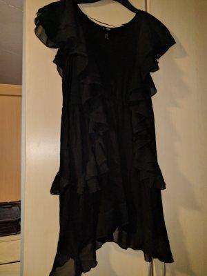 Peplum jurk zwart