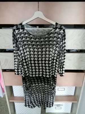 Sweat Dress white-black